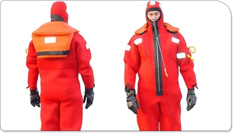Survival suits will be required for the 24 hour challenge....