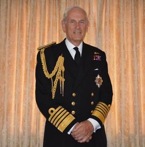 Admiral of the Fleet the Lord Boyce KG GCB OBE DL