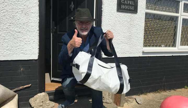 Actor Patrick Bergin is our first customer!